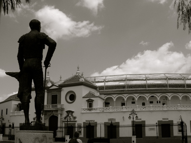 La Maestranza de Sevilla and location of my first and only bullfight.