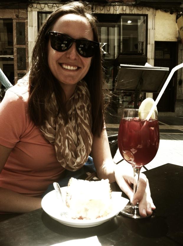 Sipping tinto de verano in sunny León