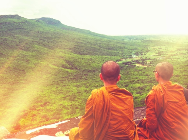 Monks with a view