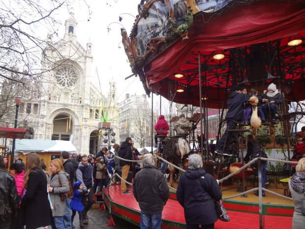 Brussels' Christmas Carousel