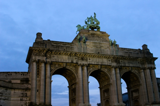 Cinquantenaire Arc du Triomphe