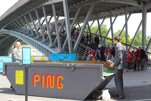 You can even play ping pong