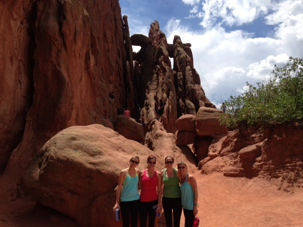 Best friends in Garden of the Gods