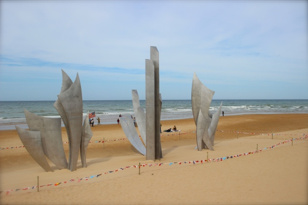 Memorial on Omaha Beach