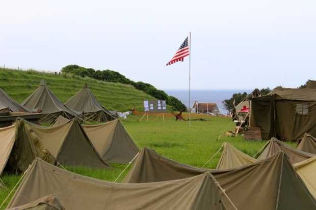 Reenactment camp