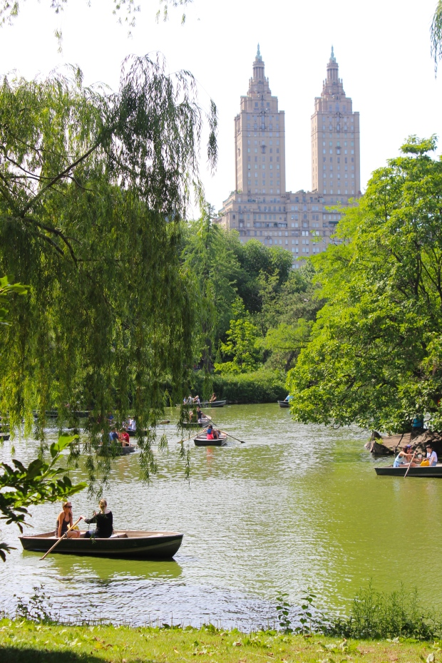 The perfect day in Central Park
