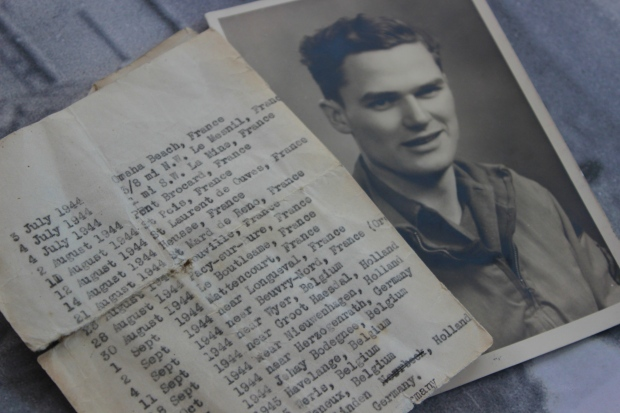 My grandfather and the timeline of his time in Europe