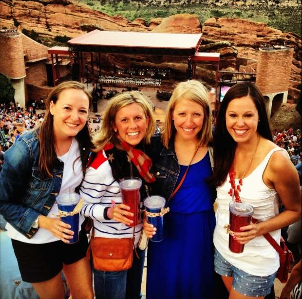 4th of July concert at Red Rocks