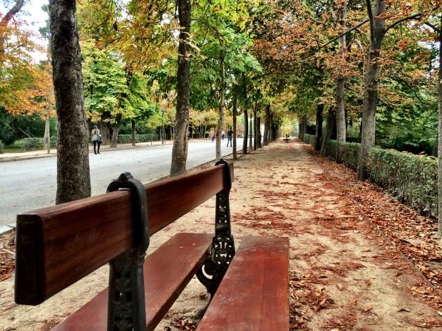 Fall in Retiro Park