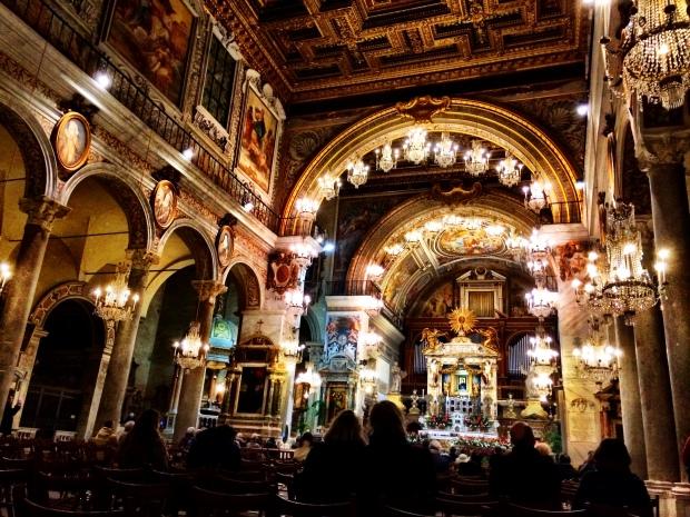 My favorite church, Basilica di Santa Maria in Ara Coeli