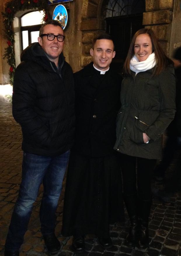 Camino friends reunited in Rome
