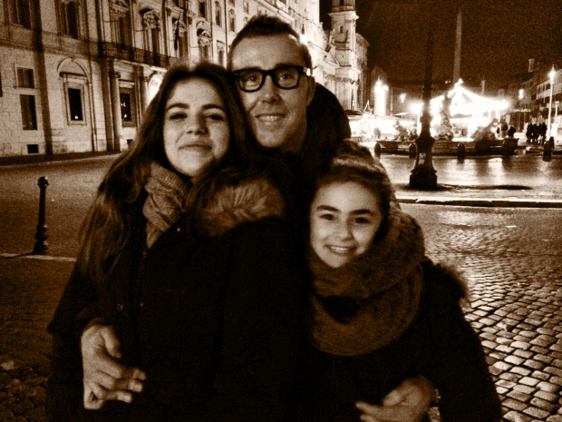 Filippo and his nieces