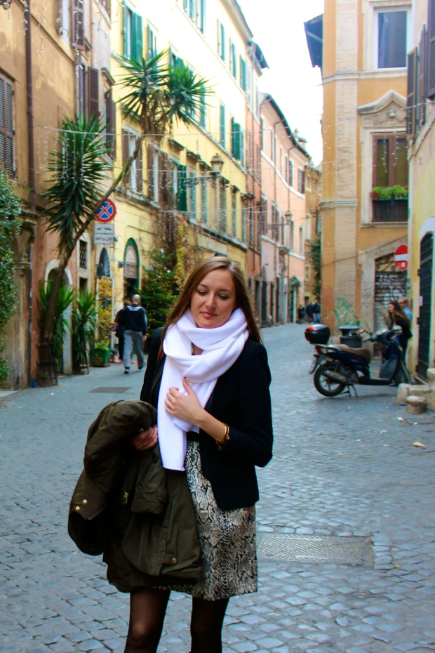 Christmas Day in Trastevere