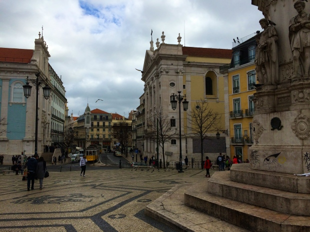 Plaza in Chiado