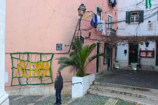 The Alfama neighborhood