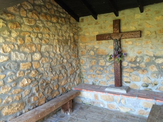 An ermita along the Camino