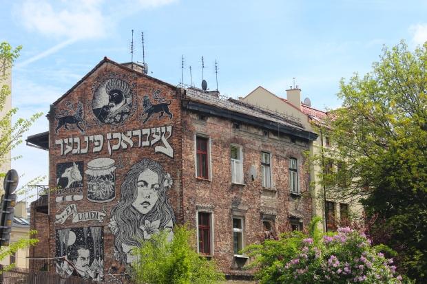 Mural in Kazimierz