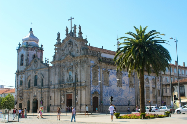 Shot of the church before my first mass in Portuguese.