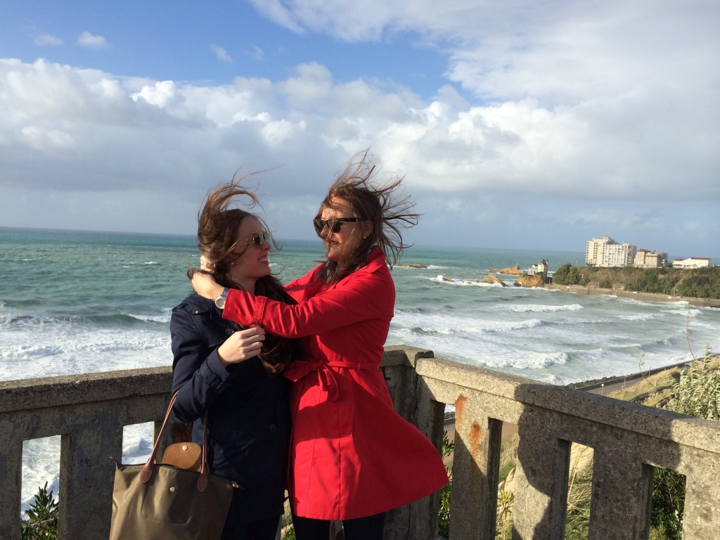 Beautifying ourselves in Biarritz
