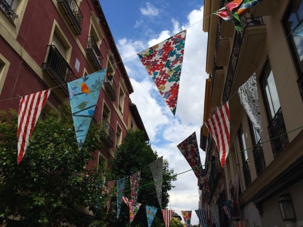 Strolling through an interior design street fair in Barrio de las Letras