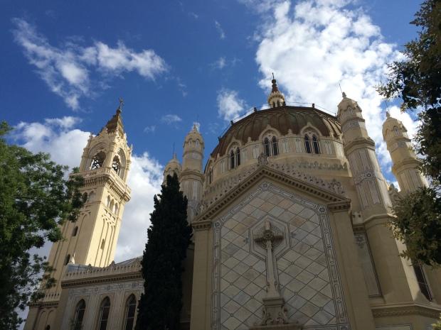 La iglesia de San Manuel y San Benito near Retiro Park