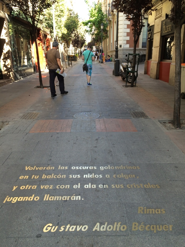 Barrio de las Letras, the literary quarter