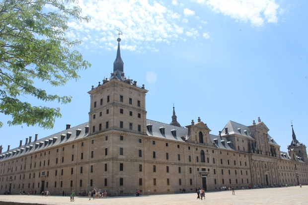 El Escorial, a short bus ride from Madrid